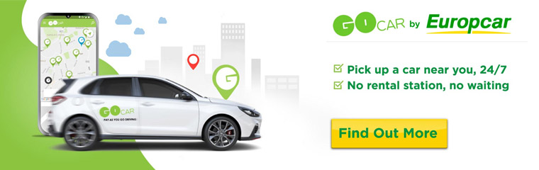 GoCar By Europcar Virtual Stations