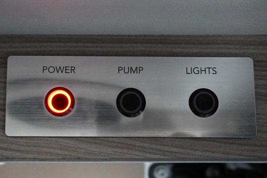 Campervan power settings