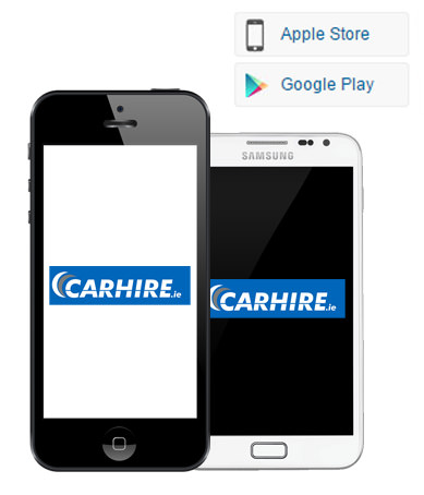 CARHIRE.ie mobile apps